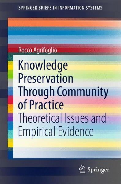 Knowledge Preservation Through Community of Practice