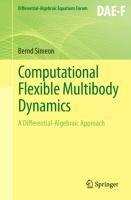Computational Flexible Multibody Dynamics