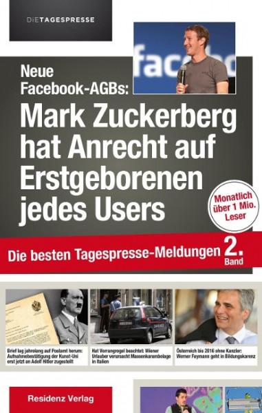 Neue Facebook-AGBs: Mark Zuckerberg hat Anrecht auf Erstgeborenen