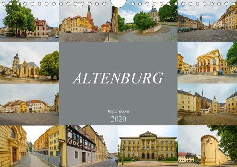 Altenburg Impressionen (Wandkalender 2020 DIN A4 quer)