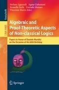 Algebraic and Proof-Theoretic Aspects of Non-Classical Logics