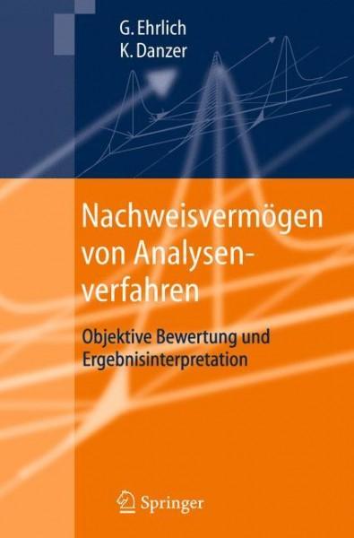 Nachweisvermögen von Analysenverfahren
