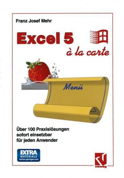 Excel 5 à la Carte