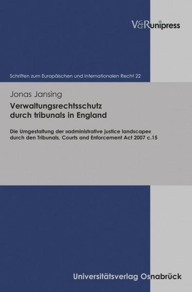 Verwaltungsrechtsschutz durch tribunals in England