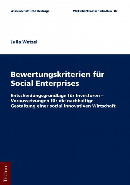 Bewertungskriterien für Social Enterprises