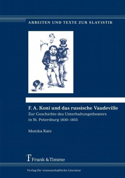 F. A. Koni und das russische Vaudeville