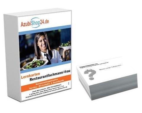 AzubiShop24.de Basis-Lernkarten Restaurantfachmann/-frau