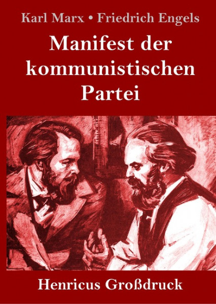 Manifest der kommunistischen Partei (Großdruck)