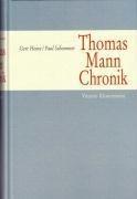 Thomas Mann Chronik