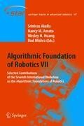 Algorithmic Foundation of Robotics VII