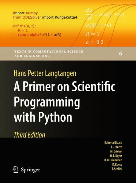 A Primer on Scientific Programming with Python (Texts in Computational Science and Engineering, Band