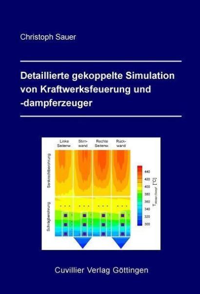 Detaillierte gekoppelte Simulation von Kraftwerksfeuerung und -dampferzeuger