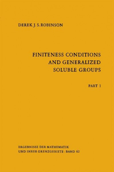 Finiteness Conditions and Generalized Soluble Groups