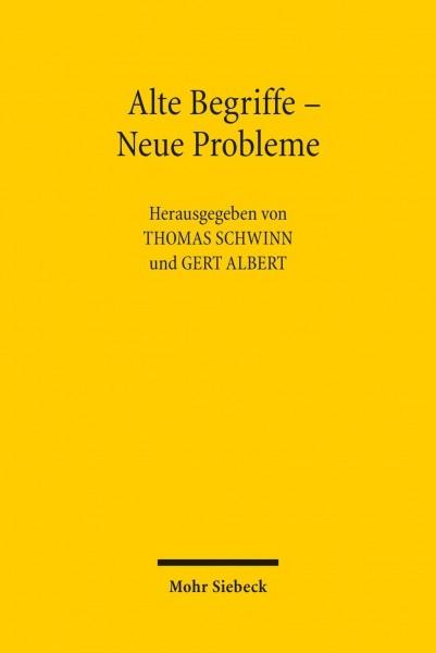 Alte Begriffe - Neue Probleme