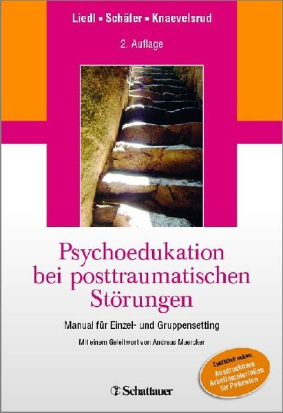 Psychoedukation bei posttraumatischen Störungen: Manual für Einzel- und GruppenSetting - Mit einem G
