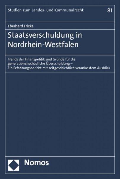 Staatsverschuldung in Nordrhein-Westfalen