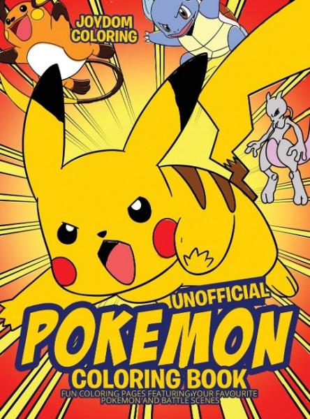 Unofficial Pokemon Coloring Book