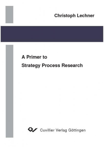 A Primer to Strategy Process Research