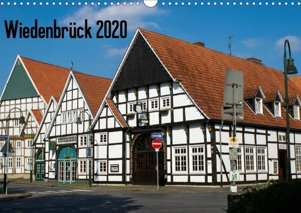 Wiedenbrück 2020 (Wandkalender 2020 DIN A3 quer)
