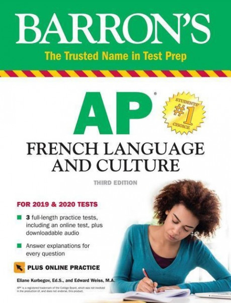 AP French Language and Culture with Online Test & Downloadable Audio