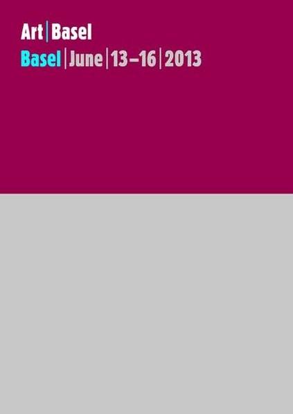 Art Basel June   13-16   2013