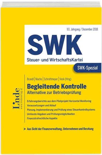 SWK-Spezial Begleitende Kontrolle: Alternative zur Betriebsprüfung