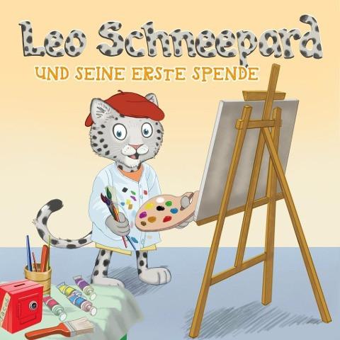 Leo Schneepard und seine erste Spende