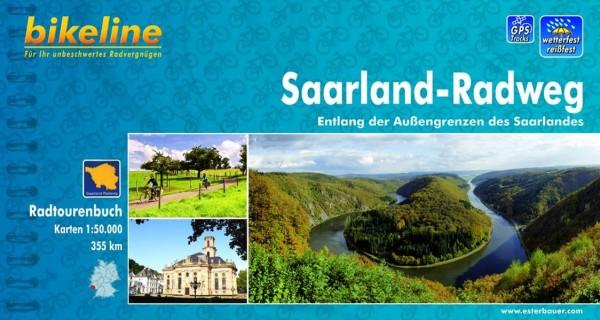 Bikeline Radtourenbuch, Saarland-Radweg: Radtourenbuch und Karte 1 : 50 000, wetterfest/reißfest, GP
