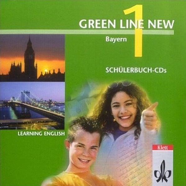 Green Line NEW Bayern: Begleit-CDs zum Schülerbuch Band 1: 5. Schuljahr (Green Line NEW. Ausgabe für