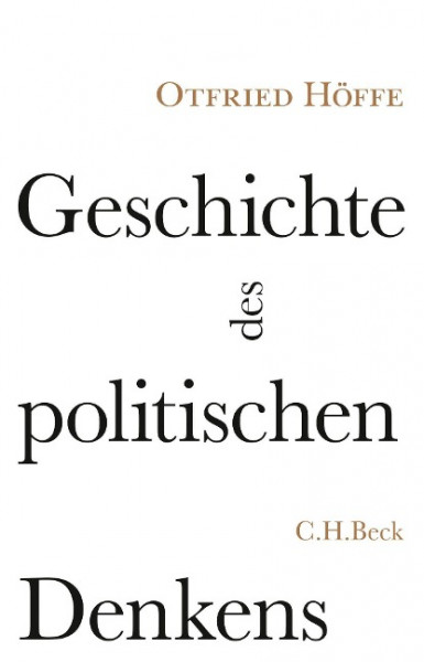 Geschichte des politischen Denkens