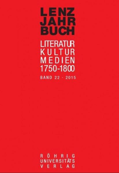 Lenz-Jahrbuch 22 (2015)