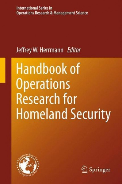 Handbook of Operations Research for Homeland Security