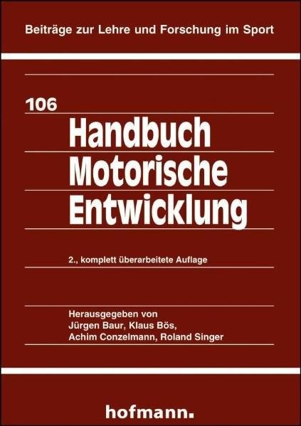 Handbuch Motorische Entwicklung