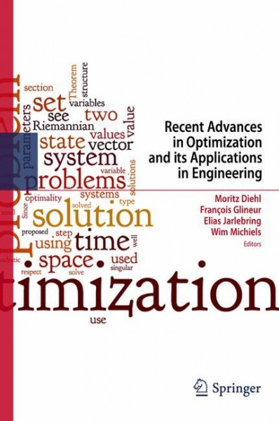 Recent Advances in Optimization and its Applications in Engineering