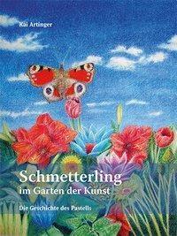 Ein Schmetterling im Garten der Kunst