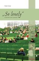 """""""So lonely"""""""
