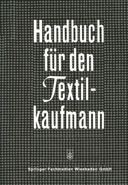 Handbuch für den Textilkaufmann