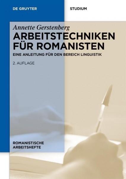Arbeitstechniken für Romanisten