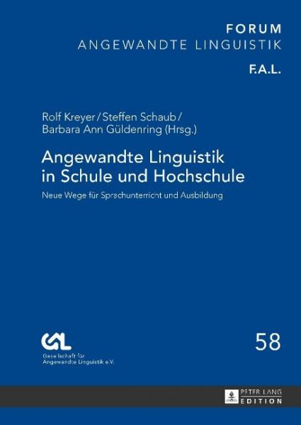 Angewandte Linguistik in Schule und Hochschule