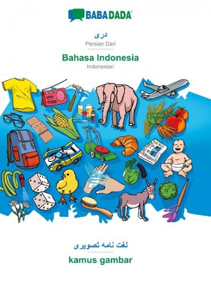 BABADADA, Persian Dari (in arabic script) - Bahasa Indonesia, visual dictionary (in arabic script) -