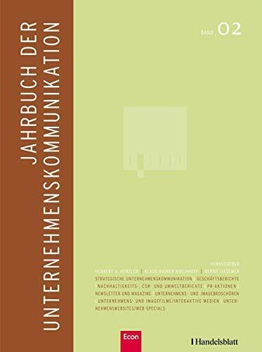 Jahrbuch der Unternehmenskommunikation 2008