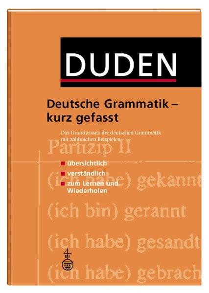 Duden, Deutsche Grammatik kurz gefasst