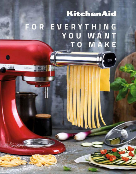 Kitchen Aid - For Everything You Want To Make