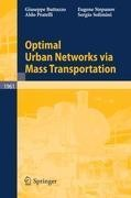 Optimal Urban Networks via Mass Transportation