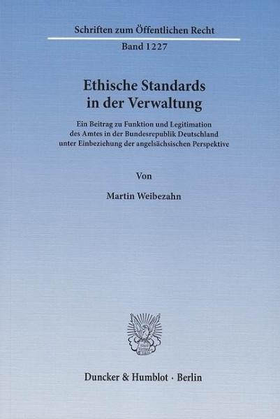Ethische Standards in der Verwaltung