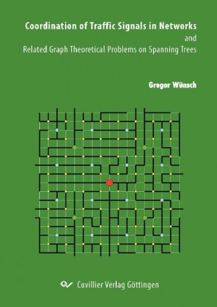 Coordination of Traffic Signals in Networks and Related Graph Theoretical Problems on Spanning Trees