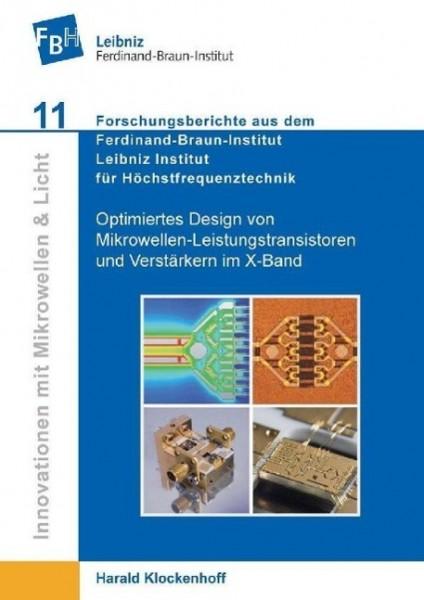 Optimiertes Design von Mikrowellen-Leistungstransistoren und Verstärkern im X-Band