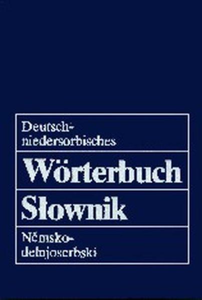Deutsch-niedersorbisches Wörterbuch