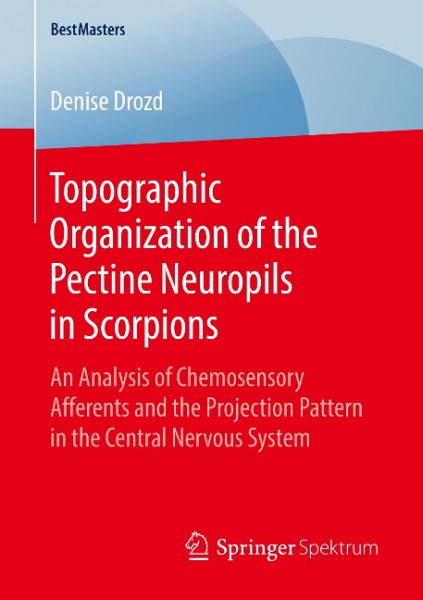 Topographic Organization of the Pectine Neuropils in Scorpions