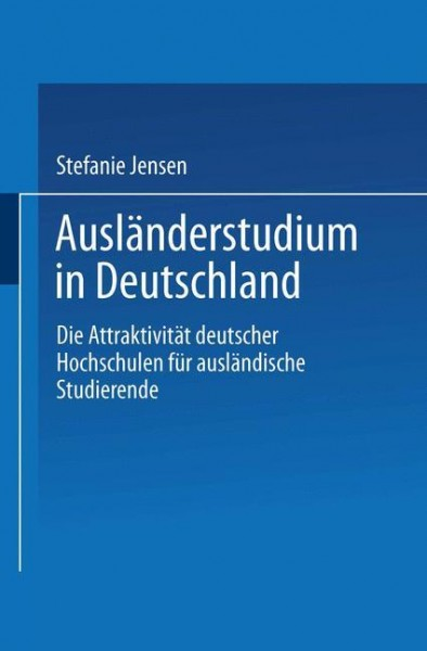 Ausländerstudium in Deutschland